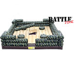 Battle Zone this interactive game the log can be changed out with bull for 2 exciting games in one!