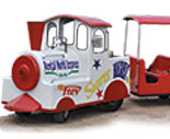 Rental World Rides - Trackless Train