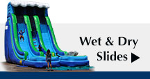 Inflatable Wet/Dry Slides