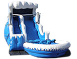 18ft Double Drop Wet or Dry Slide