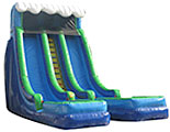 24Ft Dual Lane Wet or Dry Slip n Slide 5 piece