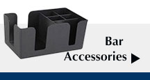 Bar Accessories, Bar Caddy, Condiment Caddy, Ice Scoop, and much more!