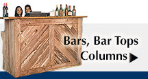 Bars, Bar Tops, Columns, Cocktail Tables, Bar Stools and much more