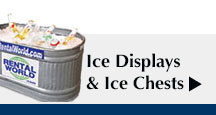 Ice Displays and Ice Chests
