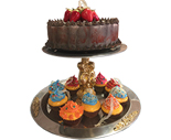 2-Tier Cupcake Stand