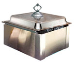 Wind guards for chafing dishes