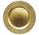 "13"" Gold Hammered Rim 0080-0625"