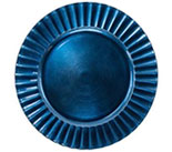 "13"" Dark Blue Ruffle Rim 0080-0636"