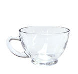 Clear Coffee Cup 7.5 Oz