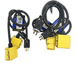3-way Twist Lock Cord Bundled with 6500W Honda Generators