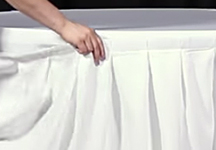 How to Install Table Skirting