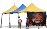 10x10 High-Peak tent Booths