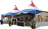 20x20 High-Peak tent Booths