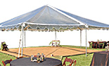 30x Frame Clear Tents