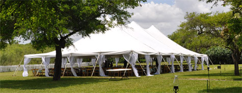 Rental World Wedding Tent At Casa Los Evanos