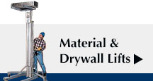 Material & Drywall Lifts