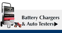 Battery Chargers & Auto Testers