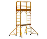 Bakers with 2 Tier and optional outriggers and casters