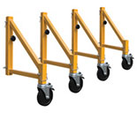 Square Outriggers with Casters