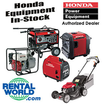 Honda Power Equipment In-Stock
