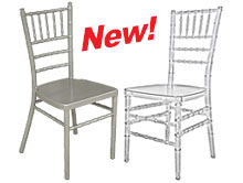 Silver & Crystal Chiavari Chairs