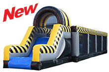 Warrior Jump Interactive Inflatable